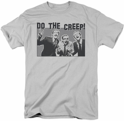 Saturday Night Live SNL t-shirt Do The Creep mens  silver