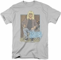 Saturday Night Live SNL t-shirt Excellent mens  silver