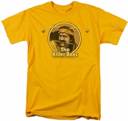 Saturday Night Live SNL t-shirt Killer Bees mens  gold