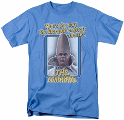 Saturday Night Live SNL t-shirt The Coneheads mens  carolina blue