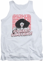 Saturday Night Live tank top Its Always Something mens white