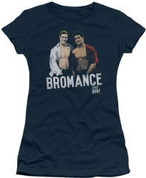 Saved By The Bell juniors t-shirt Bromance navy