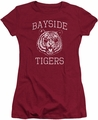 Saved By The Bell juniors t-shirt Go Tigers cardinal