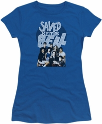 Saved By The Bell juniors t-shirt Retro Cast royal