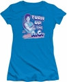 Saved By The Bell juniors t-shirt Turn Up The AC turquoise