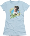 Saved By The Bell juniors t-shirt Zack Attack light blue