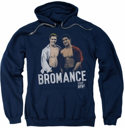 Saved By The Bell pull-over hoodie Bromance adult navy