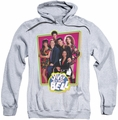 Saved By The Bell pull-over hoodie Saved Cast adult athletic heather