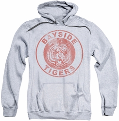 Saved By The Bell pull-over hoodie Bayside Tigers adult athletic heather