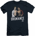 Saved By The Bell slim-fit t-shirt Bromance mens navy