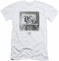 Saved By The Bell slim-fit t-shirt Class Photo mens white