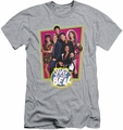 Saved By The Bell slim-fit t-shirt Saved Cast mens heather