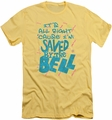 Saved By The Bell slim-fit t-shirt Saved mens banana