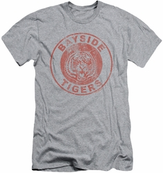 Saved By The Bell slim-fit t-shirt Tigers mens heather