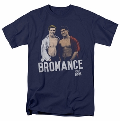 Saved By The Bell t-shirt Bromance mens navy