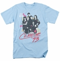 Saved By The Bell t-shirt Class of 93 mens light blue