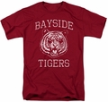 Saved By The Bell t-shirt Go Tigers mens cardinal