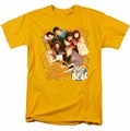 Saved By The Bell t-shirt It's All Right mens gold