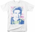 Saved By The Bell t-shirt Preppy mens white