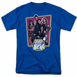 Saved By The Bell t-shirt Saved Case mens royal blue