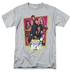 Saved By The Bell t-shirt Saved Cast mens heather