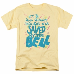 Saved By The Bell t-shirt Saved mens banana