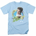 Saved By The Bell t-shirt Zack Attack mens light blue