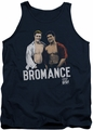 Saved By The Bell tank top Bromance mens navy