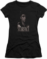 Scarface juniors t-shirt B&W Tony black
