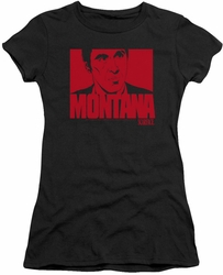 Scarface juniors t-shirt Montana Face black