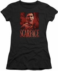 Scarface juniors t-shirt Opportunity Black