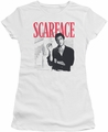 Scarface juniors t-shirt Stairway white