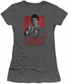 Scarface juniors t-shirt Tony charcoal