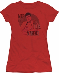 Scarface juniors t-shirt Truth red