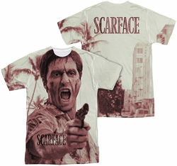 Scarface mens full sublimation t-shirt War Cry