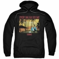 Scarface pull-over hoodie A Dog Day adult black