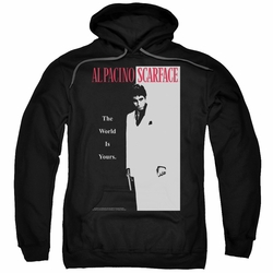 Scarface pull-over hoodie Classic adult black
