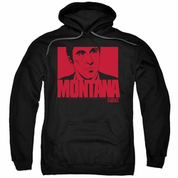 Scarface pull-over hoodie Montana Face adult black
