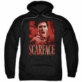 Scarface pull-over hoodie Opportunity adult black