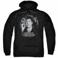 Scarface pull-over hoodie Smokey Scar adult black