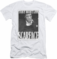 Scarface slim-fit t-shirt Business Face mens white