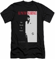 Scarface slim-fit t-shirt Classic mens black