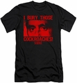 Scarface slim-fit t-shirt Cockroaches mens black