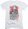 Scarface slim-fit t-shirt Little Friend mens white