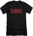 Scarface slim-fit t-shirt Logo mens black