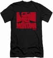 Scarface slim-fit t-shirt Montana Face mens black