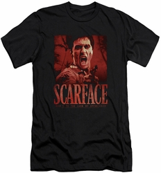 Scarface slim-fit t-shirt Opportunity mens black