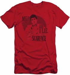 Scarface slim-fit t-shirt Truth mens red