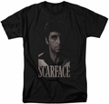 Scarface t-shirt B&W Tony mens black