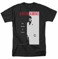 Scarface t-shirt Classic mens Black